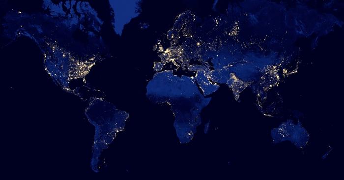 SFU Participating In The Skoll Global Challenge RADIUS SFU - World map satellite hd